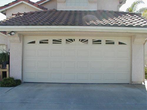 Bon Sunburst Garage Door